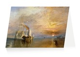 The fighting Temeraire, Greeting Card
