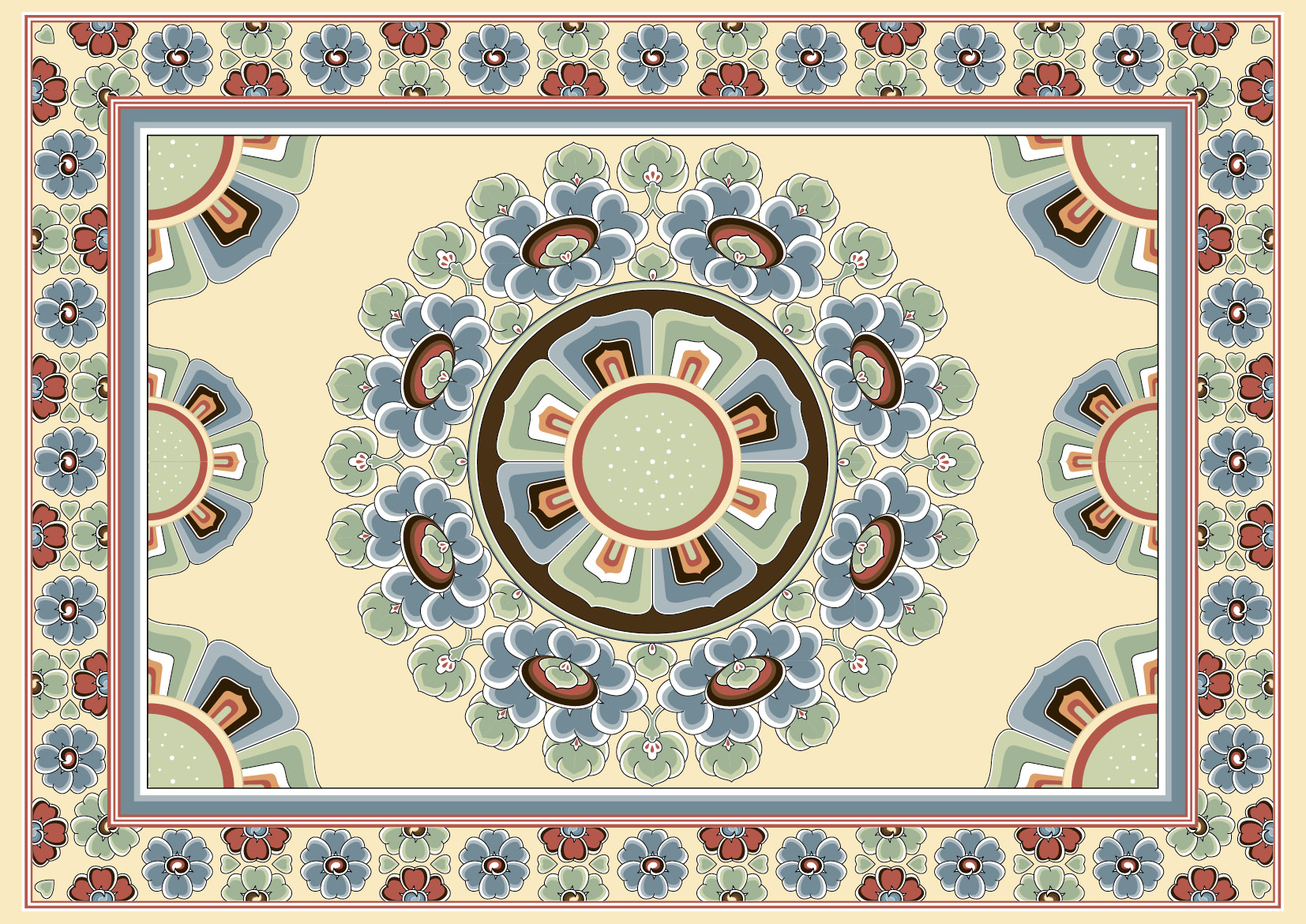 Chinese Patterns Paper Placemats Paperme Se
