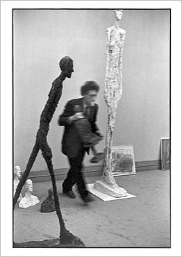 Henri Cartier-Bresson/Alberto Giacometti, Vykort