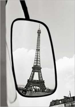 Eiffel Tower, Vykort