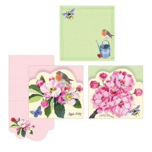 Cherry Blossom Garden Gift Notes
