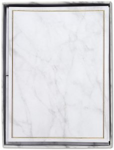 Marble, Stationery Set