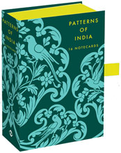 Patterns of India: Box of 16 Notecards