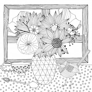 Believe In Yourself Coloring Book