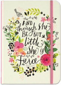 And though she be but little, she is fierce, Journal