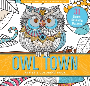 Owl Town, Coloring Book