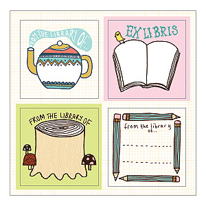 Kate Sutton Bookplates Book of Labels