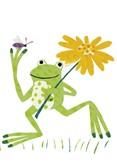 Happy Hopper, Postcard