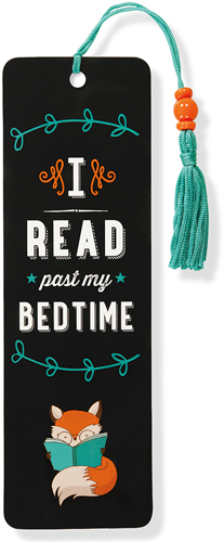 Beaded Bookmark, I Read Past My Bedtime