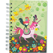 Unicorn, Spiral Bound Notebook, 80 sheets