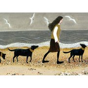 Walking the Dogs, Greeting Card
