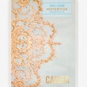 Floral Ceiling, Paris in Bloom, Layflat Notebook