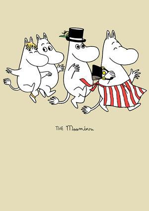 The Moomins, Greeting Card