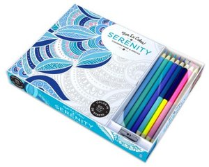 Vive Le Color, Serenity (Coloring Book and Pencils)