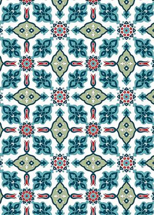 Turkish Designs, Gift & Creative Paper Book