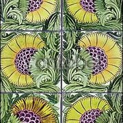 Panel of Tiles, Greeting Card