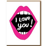 I Love You Shout, Greeting Card