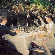 Artist's Party in Skagen (1888), Greeting Card