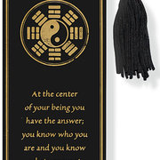 Beaded Bookmark YIN YANG
