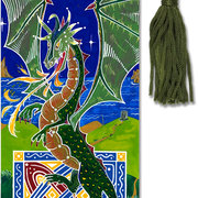 Beaded Bookmark DRAGON