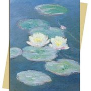 C.Monet/Waterlilies Evening, Greeting Card