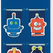 ICLIP MAGNETIC BKMK SHAPED ROBOTS