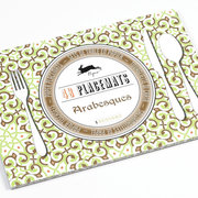 Arabesques, Paper Placemats
