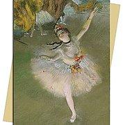 E.Degas/ The Star, Greeting Card
