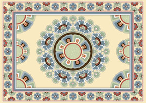 Chinese Patterns, Paper Placemats
