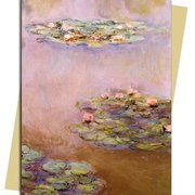 C.Monet/Water Lilies,1908, Greeting Card