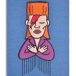 David, Postcard