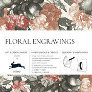Floral Engravings, Gift & Creative Paper Book