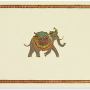 Notecard Box, 14 cards, Elephant Festival