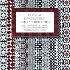 Classical European Tiles, Labels Sticker & Tapes