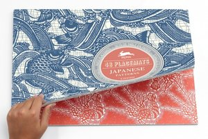 Japanese, Paper Placemats