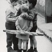 PRUNIN Groupe d'enfants dans l, Postcard