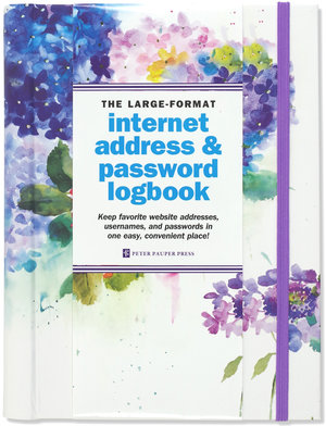 Internet Logbook, Large, Hydrangeas