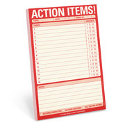 Action Items! Pad