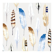 Bonnie Mae-S.Brabbins/Flight Feathers, Greeting Card
