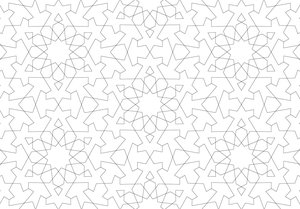 Arabian Designs, Postcard Coloring Book