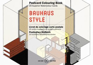 Bauhaus, Postcard Coloring Book