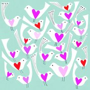 Love Birds, Greeting Card