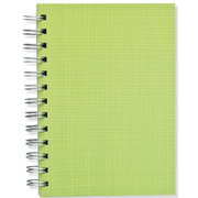 Lime Hay, Spiral Bound Notebook, 80 sheets