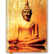 Golden Buddha, Foiled Journal