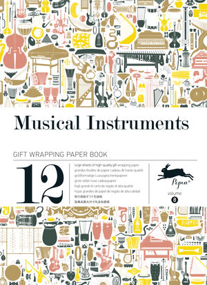 Musical Instruments, Gift & Creative Paper Book