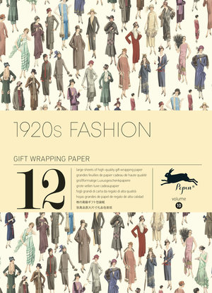 1920s Fashion,Gift & Creative Paper Book