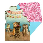 MADE TO TREASURE-Cat's Waltz, notecard