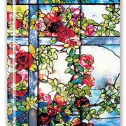Tiffany: Trellised Rambler Roses, Blank Sketch Book