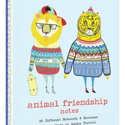 Animal Friendship,  20 Notecards in a box