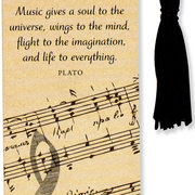 Beaded Bookmark, Music